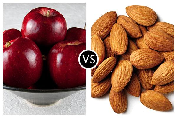 Nutritional Battle Royale II – Apples Vs. Almonds